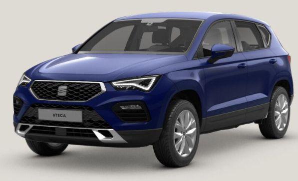 Gewerbe: Seat Ateca Style 2.0 TDI DSG Facelift mit 150 PS für 89€ mtl. netto
