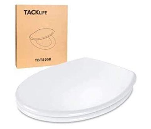 TACKLIFE O Form Toilettensitz mit Absenk Automatik für 22,99€ (statt 37€)