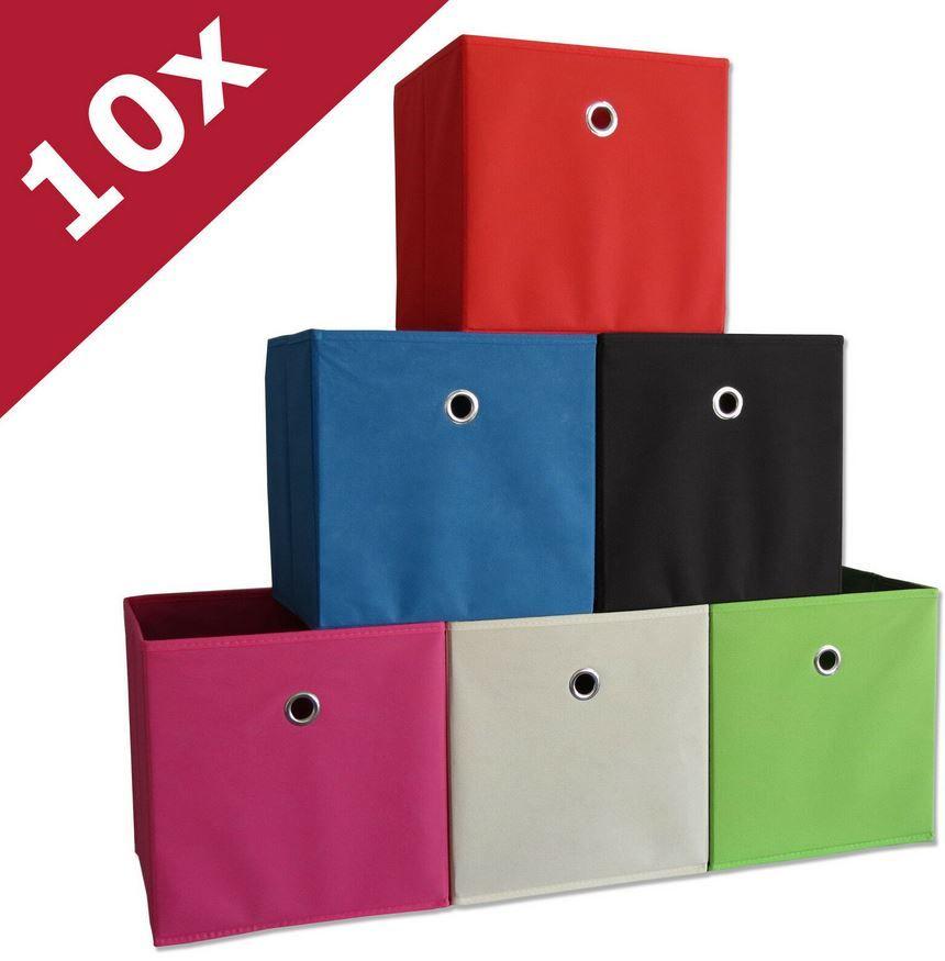 VCM Boxas   10er Set Faltboxen für 16,99€ (statt 24€)