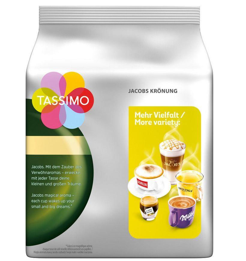5er Pack Tassimo Jacobs Krönung XL (5 x 16 Portionen) für 19,95€