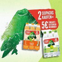 Mit dem Kauf von VOLVIC TOUCH & TEE 5€ Einkaufsgutschein abholen