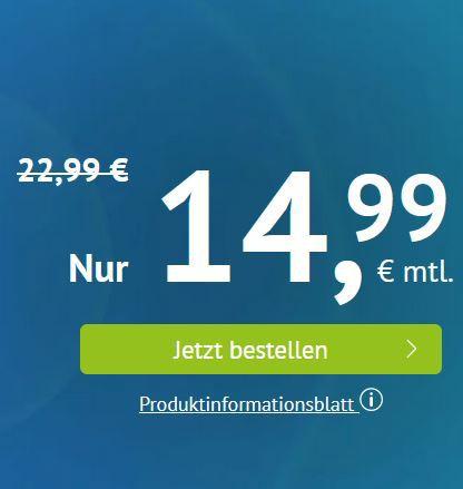 Google Pixel 4 für 49€ + Vodafone Flat mit 16GB LTE für 36,99€ mtl.
