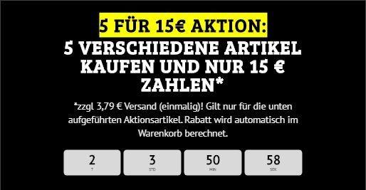 Bundelangebot   5 für 15€ Aktion beim DealClub + Versand