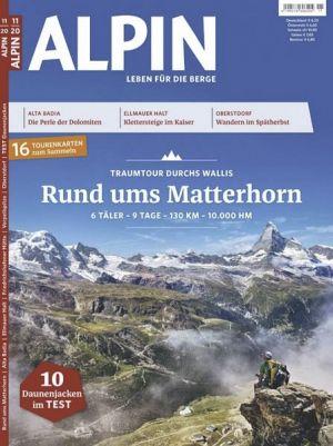 GRATIS! 3 Ausgaben ALPIN Wander Magazin ganz ohne Prämie
