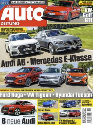 13 Ausgaben Auto Zeitung für 43,55€ inkl. 45€ Amazon Gutschein