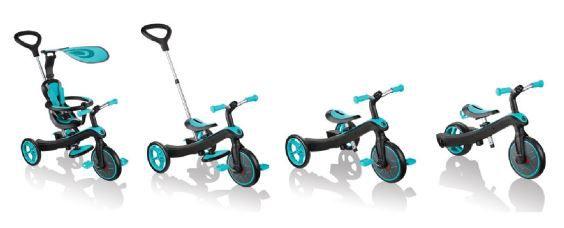 Authentic Sports Globber Explorer Trike 4 in 1 in 3 Farben für 94,99€ (statt 110€)
