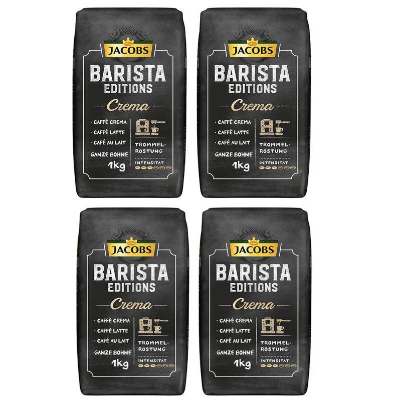 1kg Kaffeebohnen Jacobs Barista Editions Crema ab 7,19€ (statt 12€)