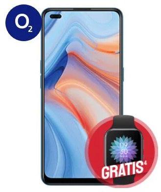 Oppo Reno 4 5G + Oppo Watch für 4,95€ + o2 Flat mit 18GB LTE für 24,99€ mtl.