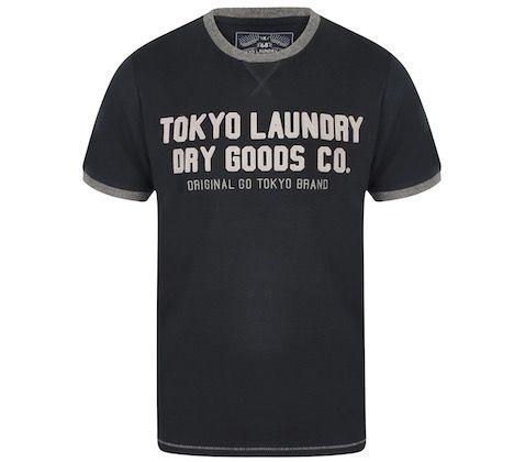 Tokyo Laundry Williamburg Logo Herren T Shirt für 7,28€(statt 10€)