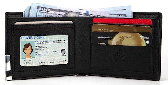 LEBEXY Geldbörse mit 8 Kartenfächer ab 3,99€(statt 7€)   Prime