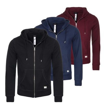 UMLT Brandon Z Herren Zip Hoodie in drei verschiedenen Farben für 39,99€ (statt 51€)