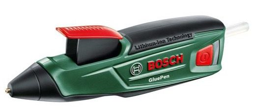 Bosch Akku Heißklebepistole GluePen inkl. 4 Klebesticks für 22,90€ (statt 29€)