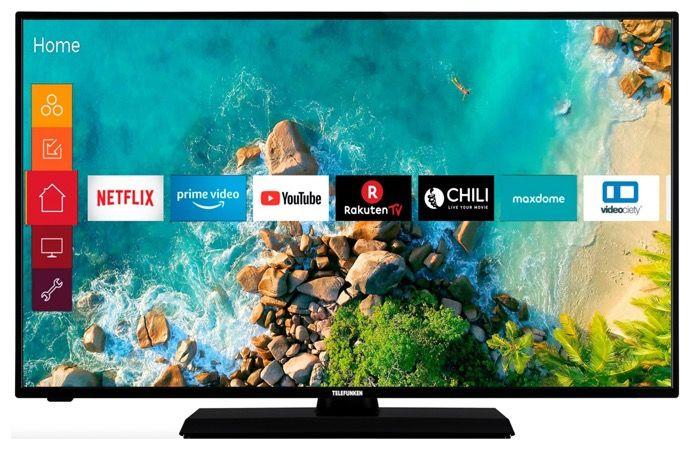 Telefunken D43F500M4CWI   43 Zoll Full HD Fernseher für 176,40€ (statt 222€)