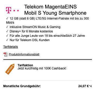 Knaller junge Leute + MagentaEins: Sony Xperia 5 II + Sony NC Kopfhörer für 29€ + Telekom Flat mit 12GB LTE für 29€mtl.