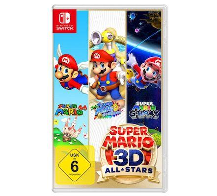Super Mario 3D All-Stars (Switch) ab 39,99€ (statt 49€) – Neukunden nur 24,99€