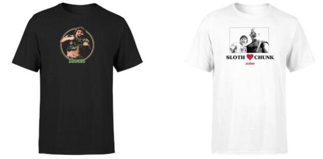 Die Goonies Collegejacke + T Shirt für 26,99€