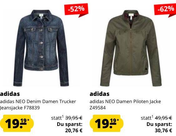 🔥 Knaller: adidas Damen Jacken für je nur 19,19€   z.B. Neo Sherpa Jacke (statt 33€)