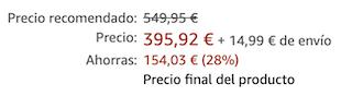 AEG KM 5520 Küchenmaschine inkl. 4,8 Liter Metall Rührschüssel für 410,91€ (statt 483€)