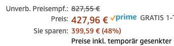 Ernsthaft? Apple Mac Pro Wheels Kit für 427,96€ (statt 731€)