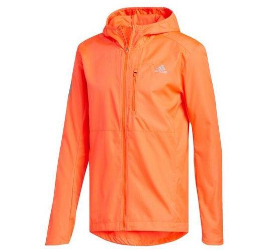 adidas Own the Run Hooded Trainingsjacke in Orange für 39,99€ (statt 60€)