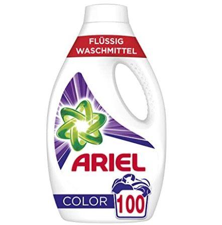4x 2er Pack Ariel Color Waschmittel flüssig (je 50 WL) für 54,57€ (statt 80€)