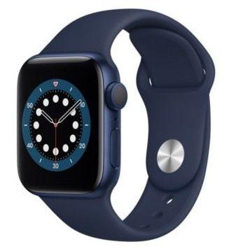 Apple Watch Series 6 (GPS) 40mm Aluminium mit Sportarmband für 363,25€ (statt 412€)