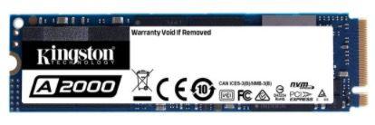 Kingston A2000 1 TB NVMe PCIe SSD M.2 für 81,90€(statt 98€)