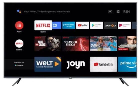 Xiaomi Mi Smart TV 4S – 55 Zoll UHD Fernseher mit Netflix  & Amazon Prime für 339,99€ (statt 395€)