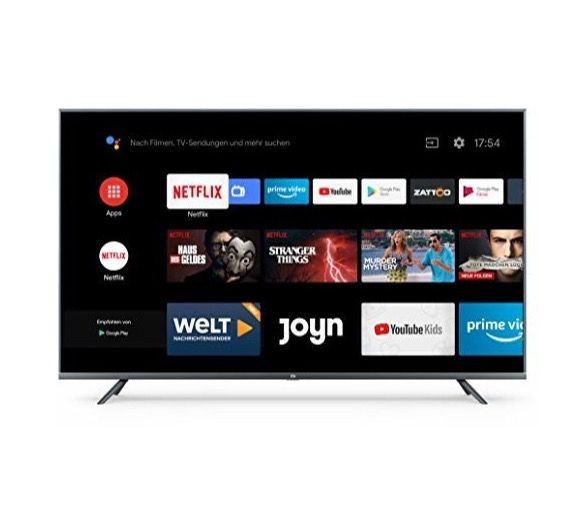 Xiaomi Mi Smart TV 4S – 55 Zoll UHD Fernseher mit Netflix- & Amazon Prime für 413,10€ (statt 499€)