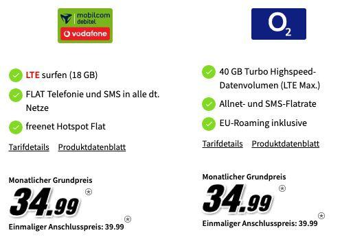Samsung Galaxy S20 + Galaxy Watch 3 LTE für 99€ inkl. Vodafone Flat mit 18GB LTE oder o2 mit 40GB LTE für je 34,99€ mtl.