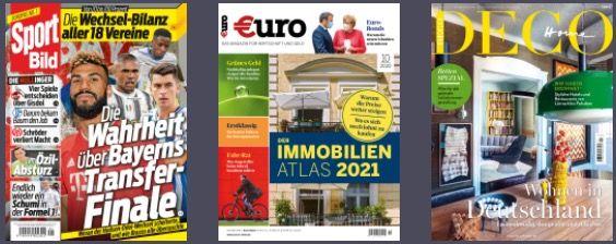 2 Monate Readly Magazin Flat (Playboy, BamS,...) GRATIS + dazu: 10€ Amazon Gutschein