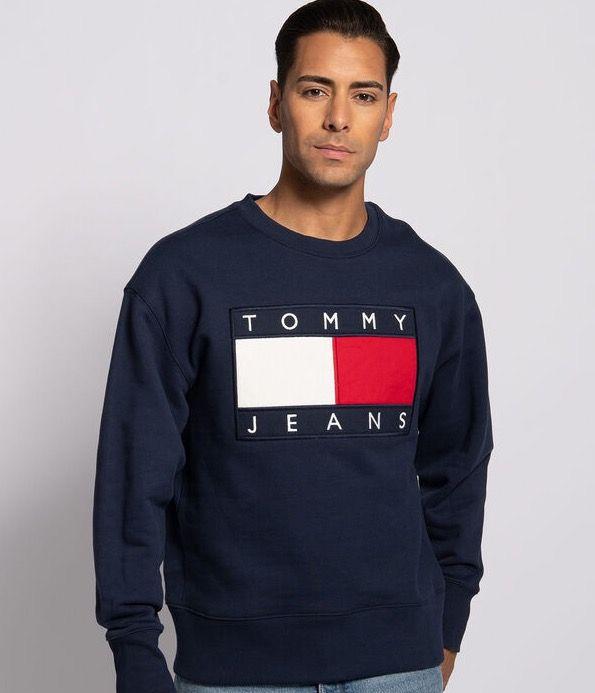Tommy Jeans Sweatshirt Tommy Flag für 58,45€ (statt 79€)