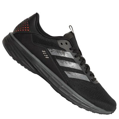 adidas Performance SL20 Laufschuh in Schwarz oder in Schwarz/Rot ab 64,99€ (statt 88€)