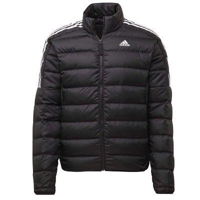 adidas Essentials Down Jacket in Schwarz/Weiß für 52,95€ (statt 63€)