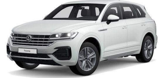 Abgelaufen! Gewerbe: VW Touareg R Line V6 TDI mit 231 PS für 159€ mtl. netto   LF: 0.26