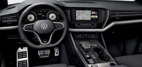 Gewerbe: VW Touareg R Line V6 TDI mit 231 PS für 268€ mtl. netto   LF: 0,50
