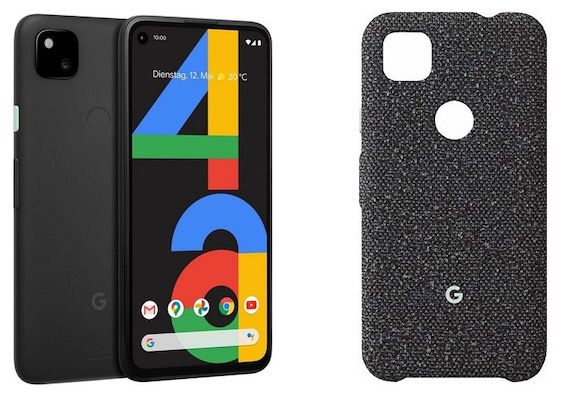 Google Pixel 4a + Backcover Case für 330,21€(statt 385€)