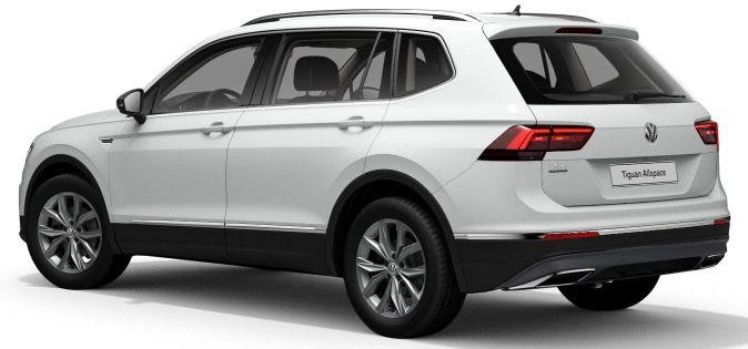 Gewerbe: VW Tiguan Allspace Highline mit 150PS für 125€ mtl. netto   LF 0.44