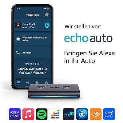 Amazon Echo Auto für 34,11€ (statt 51€)   Prime Day