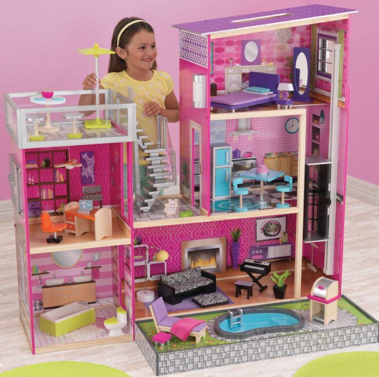 Kidkraft Puppenhaus Uptown aus stabiler Holzkonstruktion für 175€ (statt 195€)