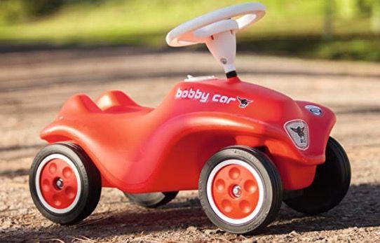 Big New Bobby Car in Hellblau für 31,99€ (statt 50€) oder in Rot für 34,99€ (statt 58€)   Prime