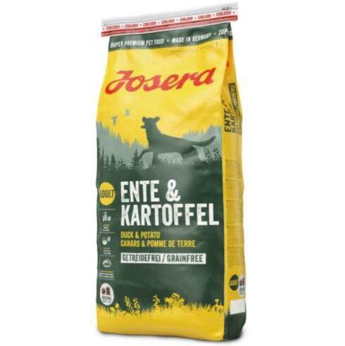 15kg Josera Ente & Kartoffel Hundefutter getreidefrei für 44,91€