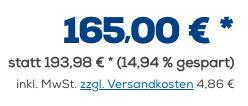 Ausverkauft! Sonos One SL WLAN Lautsprecher für 169,86€ (statt 190€)