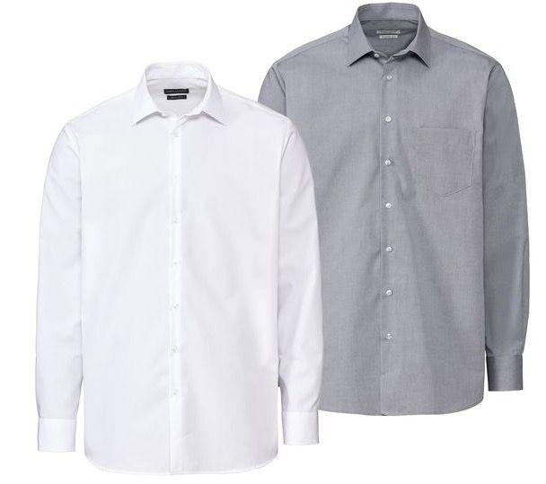 LIDL: Nobel League bügelfreie Hemden mit Kent Kragen für je 11,99€ (statt 15€)