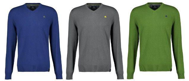 2x LERROS Strickpullover mit V Ausschnitt in vielen Farben für 47,99€ (statt 86€)