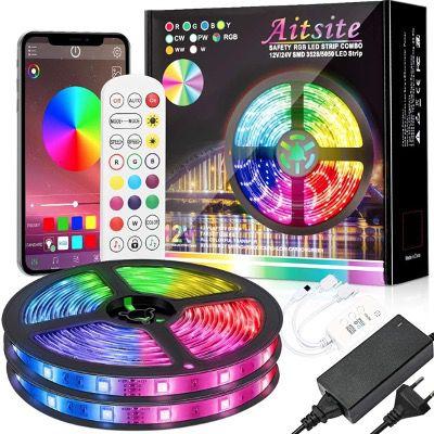 Aitsite LED Strips 10M IP65 Wasserdicht mit Bluetooth, Fernbedienung für 17,99€ (statt 30€)