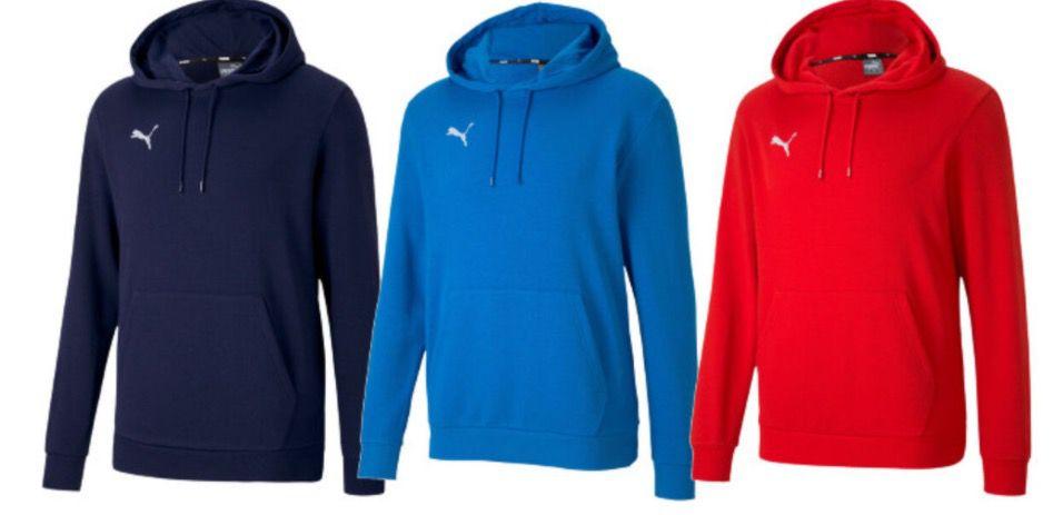 Puma teamGOAL 23 Hoodies in verschiedenen Farben für je 18,36€ (statt 23€)