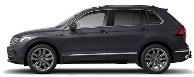 Neues 2021er Modell: VW Tiguan Elegance 2,0 mit 150PS im Gewerbelasing für 219€ netto   LF 0,51
