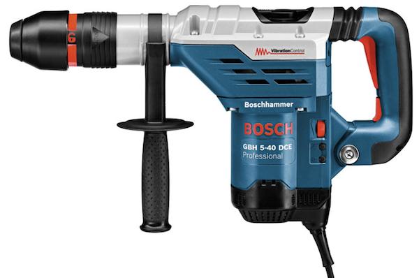 Bosch GBH 5 40 DCE SDS Max Bohrhammer mit 8,8 Joule für 355,50€ (statt 428€)