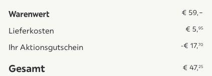 Bessagi Home Couchtisch im skandinavischem Stil (ca. 100x50cm) für 47,25€ (statt 65€)